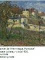 Le quartier de l'Hermitage de Gustave Loiseau